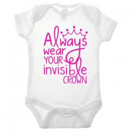 Romper Always wear your invisible crown