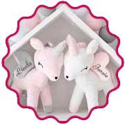 Unicorn Knuffel bedrukt